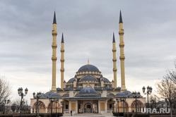 Чечня, мечеть, сердце чечни