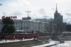 Пасхальный крестный ход в Екатеринбурге