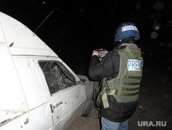 Обстрел под Луганском, пресса