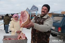 Рынок. Торговля. Пермь, торговля, свинина, мясо, рынок