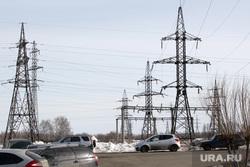 Споры энергетиковШумихаКурганская обл, линия электропередач