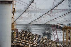 Реконструкция Центрального стадиона. Екатеринбург, стройка, рабочий, реконструкция центрального стадиона