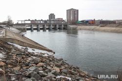 Фоторепортаж с мест подтопления во время паводка. Курган., курган, паводок2017, река тобол