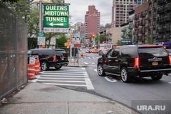 Здание ООН в Нью-Йорке и Иван Некрасов., нью йорк, queens midtown tunnel нью йорк