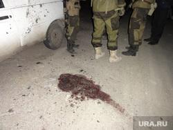 Обстрел под Луганском, кровь