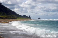 Клипарт depositphotos.com, море берег, курильские острова, остров кунашир