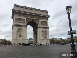 Париж, париж, франция, триумфальная арка