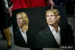 12 ежегодная итоговая пресс-конференция Путина В.В. Москва, трамп дональд, мари ле пен
