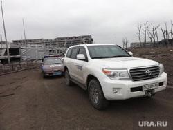 ОБСЕ в аэропорту Донецка. ДНР. Украина