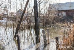 Фоторепортаж с мест подтопления во время паводка. Курган., затапливаемая территория, паводок2017, река тобол, территория в воде