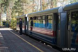 Открытие нового комплекса детской железной дороги. Екатеринбург, поезд, детская железная дорога