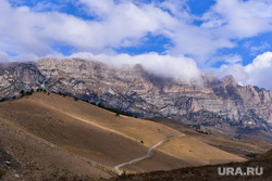 Ингушетия. Горы., горы, дорога, облака