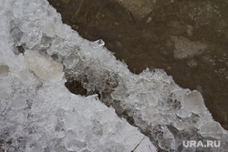 Лед на набережной. Нижневартовск , лед