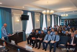 Координационное совещание  руководителей правоохранительных органов Курганской области.Курган.