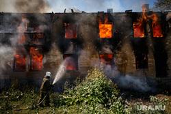 Пожар на Белинского, 163а. Екатеринбург, пожар, тушение огня, огонь