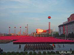 Клипарт depositphotos.com, северная корея, северокорейские солдаты, военный парад в пхеньяне