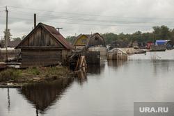 Последствия наводнения. Нижневартовск, наводнение