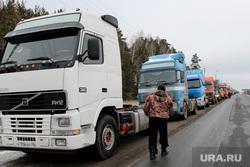 Акция дальнобойщиковКурган, акция протеста, дальнобойщики, фуры