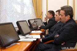 Заседание штаба по оценке текущей социально-экономической ситуации в Курганской области , мониторы