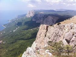 Крым., мердвень каясы, южный берег крыма, юбк, горы