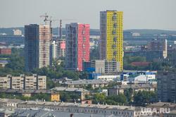 Виды Екатеринбурга, новостройка, жк малевич, строительство дома