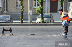 Ремонт дороги. Челябинск, ремонт дорог, асфальт