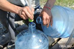 Проблемы с водой Южноуральск Челябинск, розлив воды в бутыли