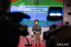 Пресс-конференция Комаровой. Ханты-Мансийск, портрет, пресс конференция, комарова наталья
