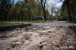Ремонтные работы на улице Кировоградская. Екатеринбург, ремонтные работы, улица кировоградская