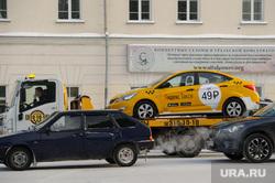 Зимний Екатеринбург, автоэвакуатор, общественный транспорт, яндекс такси