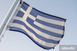 Клипарт. Греция. Крит, флаг греции