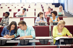 Клипарт depositphotos.com, учеба, образование, высшее образование, студенты, аудитория