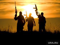 Клипарт depositphotos.com , оружие, автоматы, терроризм, террористы, военные действия