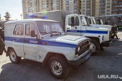 Празднование первого Дня войск Национальной гвардии. Тюмень, уазик, полиция, полицейский автомобиль