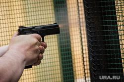Практическая стрельба из пистолета. Екатеринбург, пистолет, стрельба, боевое оружие