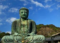 Открытая лицензия от 16.12.10.2016. Япония, Сирия, Пальмира, буддизм, статуя, Котоку-ин, символ японии