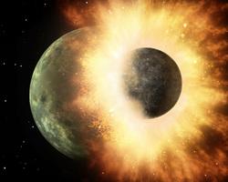 Открытая лицензия от 07.10.2016. Планеты, кулак, космос, планета, столкновение планет