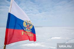 Жизнь оленеводов. Сургут, зима, флаг рф, триколор, флаг россии, озеро нум-то
