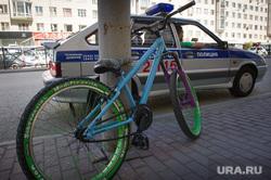 Виды Екатеринбурга, велосипедист, правила дорожного движения, штраф, полиция, пдд, дпс