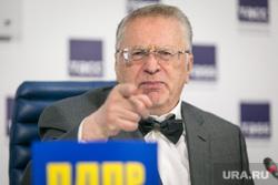 Пресс-конференция ЛДПР в ТАСС. Москва, портрет, указательный палец, жириновский владимир
