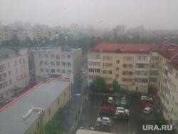Ураган и ливень в Челябинске, 06.06.2014, ливень, город