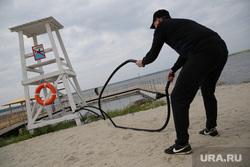 Открытие Огонь Пляжа. Екатеринбург, пляж, фитнес