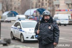 ЧП на Октябрьском Поле. Москва, полицейский, оцепление, перекрытие дороги, октябрьское поле