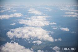 Крым., погода, облака, вид из самолета