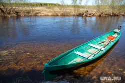 Разные фото (дорога и домики). Вижай, река, лодка