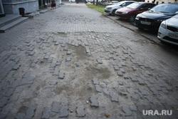 Экономика екатеринбургского хозяйства. Екатеринбург, тротуар, разбитый, бехатон