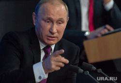 Путин. Пресс-конференция. Москва. Часть II, указательный палец, путин владимир