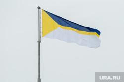 Виды города. Нижневартовск, флаг нижневартовска