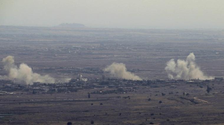 ВВС Израиля атаковали сирийские позиции наГоланах