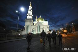 Курбан-байрам в Соборной мечети. Москва, мечеть